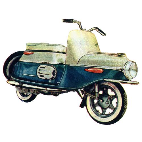 Cezeta Motorroller Typ 501,502