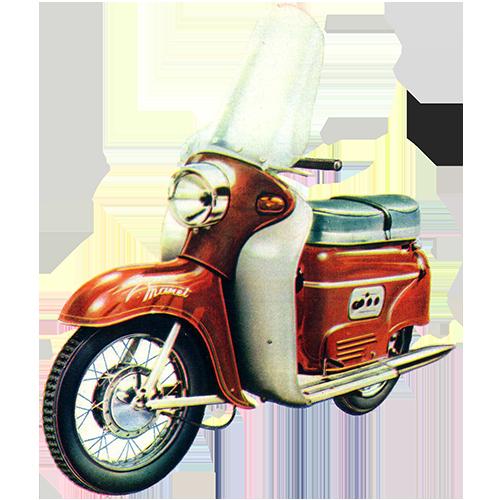 Manet Motorroller S-100,Tatran S-125