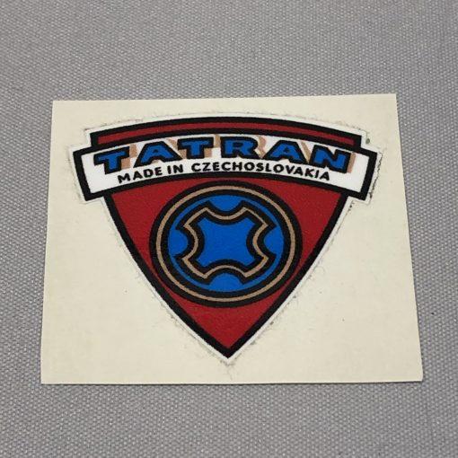 01-7038A Aufkleber Logo Batteriekasten Tatran